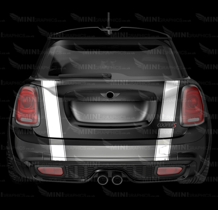 mini graphics triple boot and bumper stripes