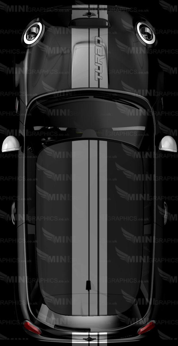 3 stripe turbo viper stripes mini graphics