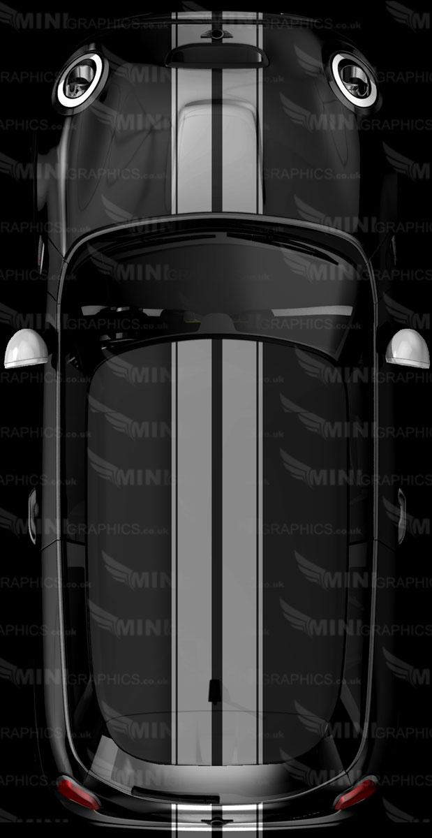 4 stripe thicker viper mini graphics