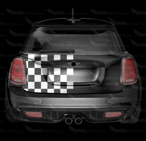 mini graphics bonnet stripes